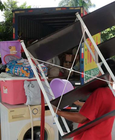 提供个人家庭别墅搬家服务